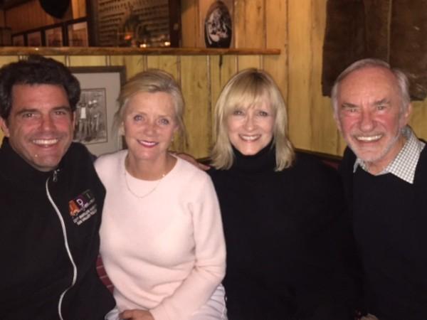 With Founding Artistic Director Choreographer, Douglas Webster, new IDI board member, Joan Sabatino and friend and IDI supporter Joe Kasputys