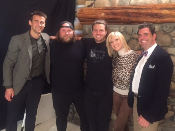With Ryan, THE 2 key guys of our amazing crew, Spencer and Mark, me and Doug